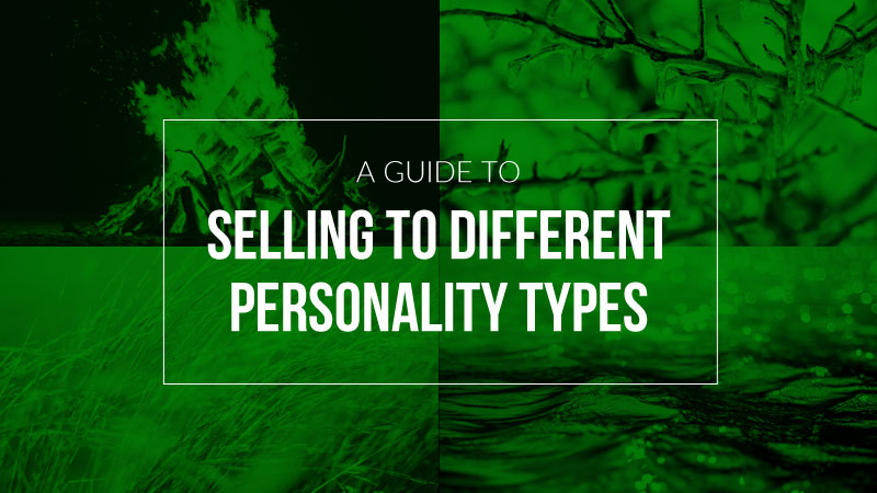 Cedrick Harris' Guide to Selling to Different Personality Types