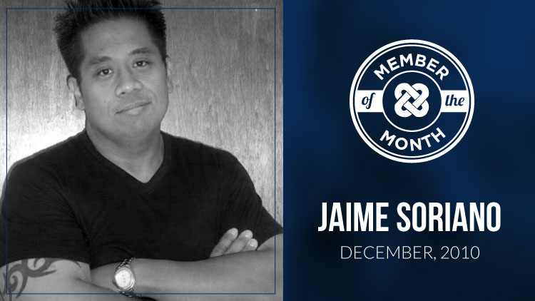 MLSP® Member of the Month – Jaime Soriano | December 2010
