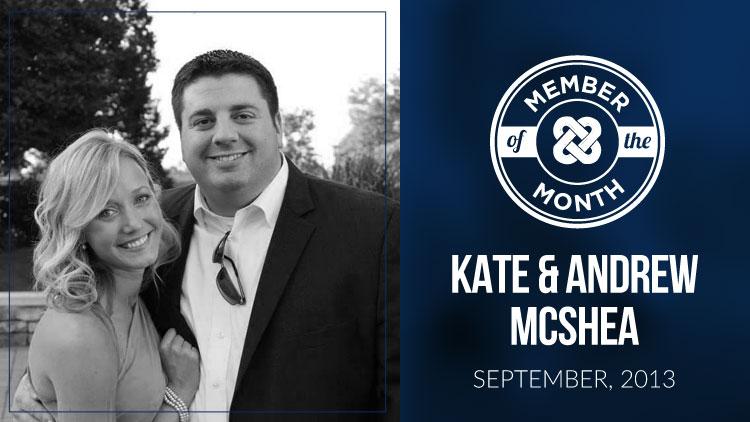 Kate & Andrew Mcshea