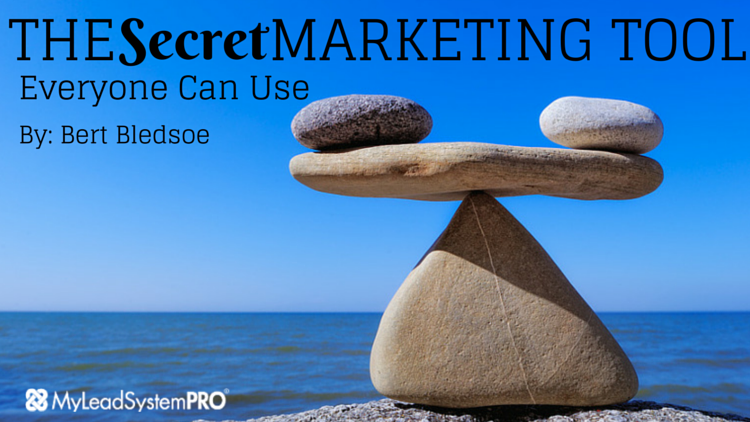 Leverage! The Secret Marketing Tool Everyone Can Use
