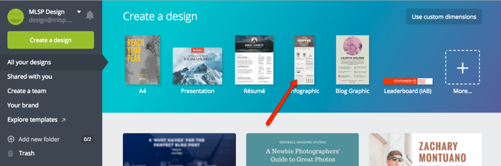 Personal Branding Tips - Use Canva for Lead Magnets!