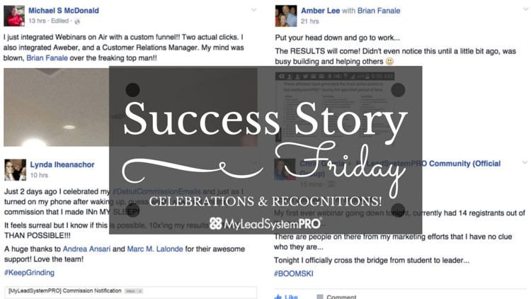"[Success Story Friday] ""Put Your Head Down and Go To Work… the Results Will Come!"""