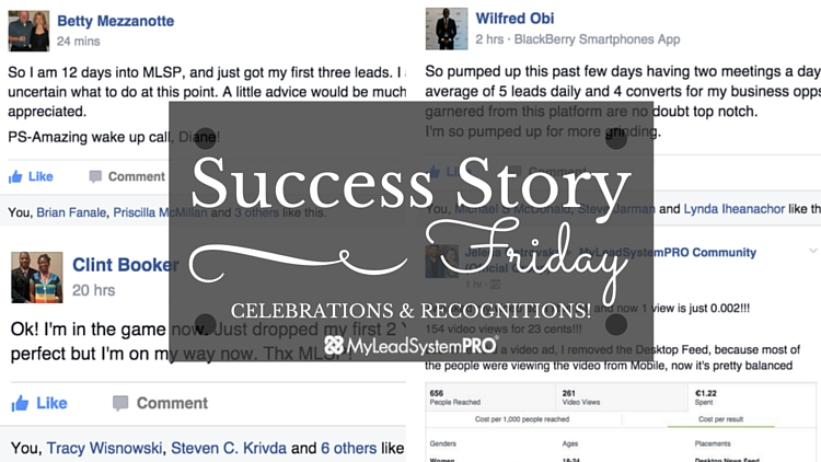 [Success Stories Friday] Watch What These Future Leaders Are Doing Inside of MLSP (And  Do It Too!)…