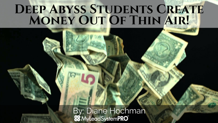 Deep Abyss Students Create Money Out Of Thin Air!
