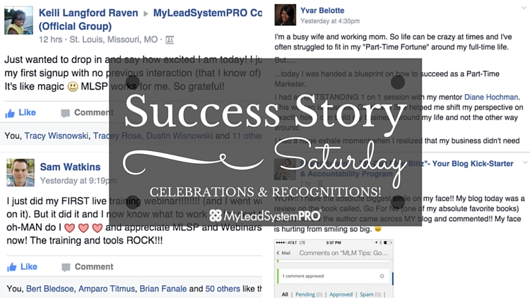 "[Success Story Saturday] ""This Is So Cool! It's Like Magic. MLSP Works for ME. So  Grateful!"""