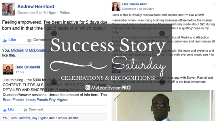 """[Success Story Saturday] """"I Look At This Bi-Weekly Residual Front-End Income and I'm Like WOW!""""…"""