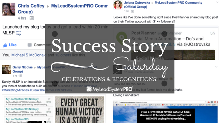 """[Success Story Saturday] """"Launched My Blog Today and Got a Lead Within 20 Mins!"""""""