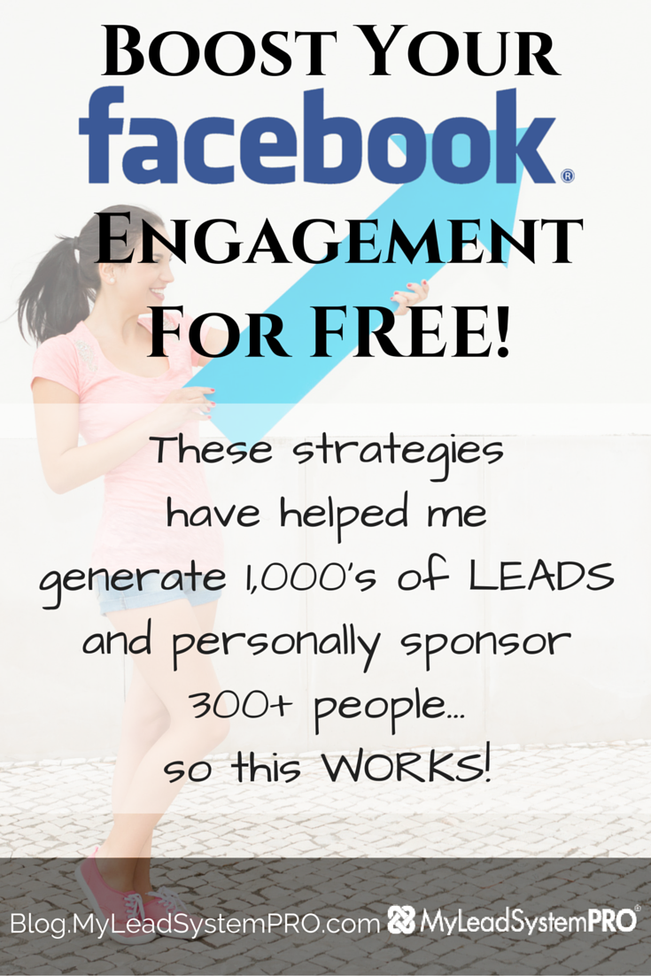 How to BOOST your Facebook engagement for FREE!