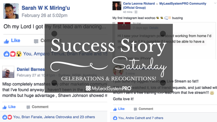 """[Success Story Saturday] """"54 Leads Just Sharing Images on Facebook. Resulting in 8 New  Sales!"""""""