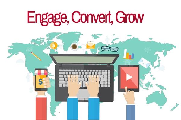 engage convert grow