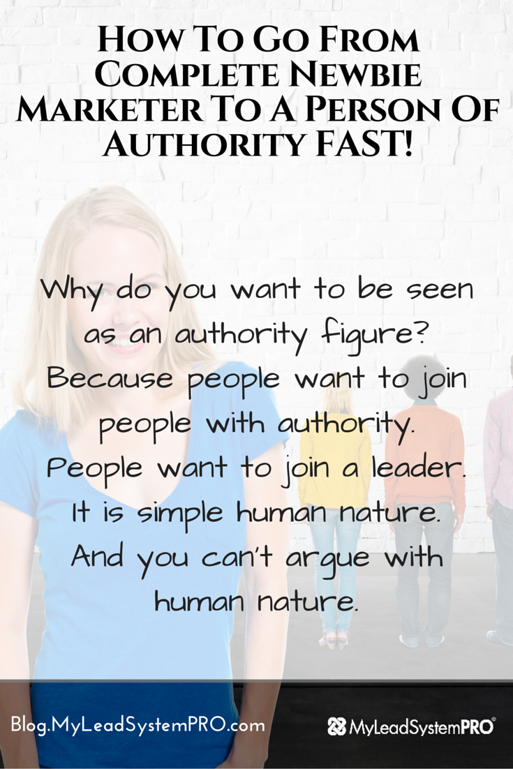 If you're a newbie with your home biz, you're definitely going to want to check this out!  Our up and coming rock star Erin Birch put up a post and even cut a video for you where she shows you how to go from newbie to authority figure in just 2 steps!