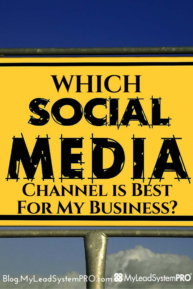 With so many social media channels to choose from, it's hard to decide which is best for you and your business. To help you decide, there are a couple of things you should know first.