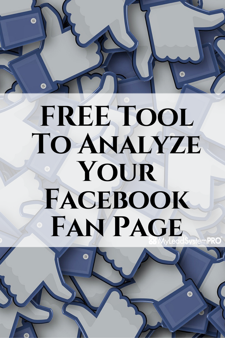 So you got a fan page but you are not quite sure what to do with it? Maybe you have a fan page and just want to know what's really going on with it. In this blog post I want to share with you a cool tool I found to help analyze your fan page.