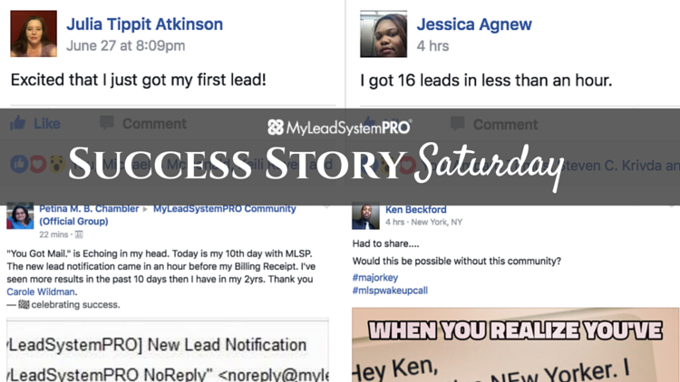 """[Success Story Saturday] """"I Decided Not to Quit and Look What Happened… $1100.00 Commission"""""""