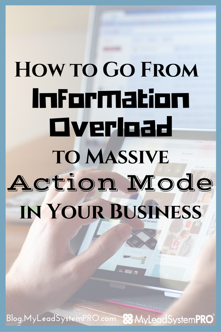 L4 leaders Dustin & Tracy Wisnowski just popped a post on the MLSP Leader Blog where they actually give you the steps to go from info overload to action mode starting TODAY! = => Click Here to Check Out Their 4 Can't ­Fail Steps to Power Yourself Into Action Mode!