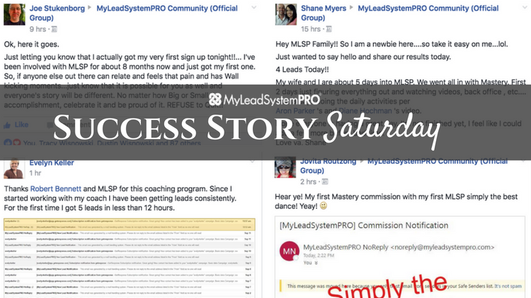 [Success Story Saturday] 53 Leads in 24 Hours!!! This Community is a BLESSING!