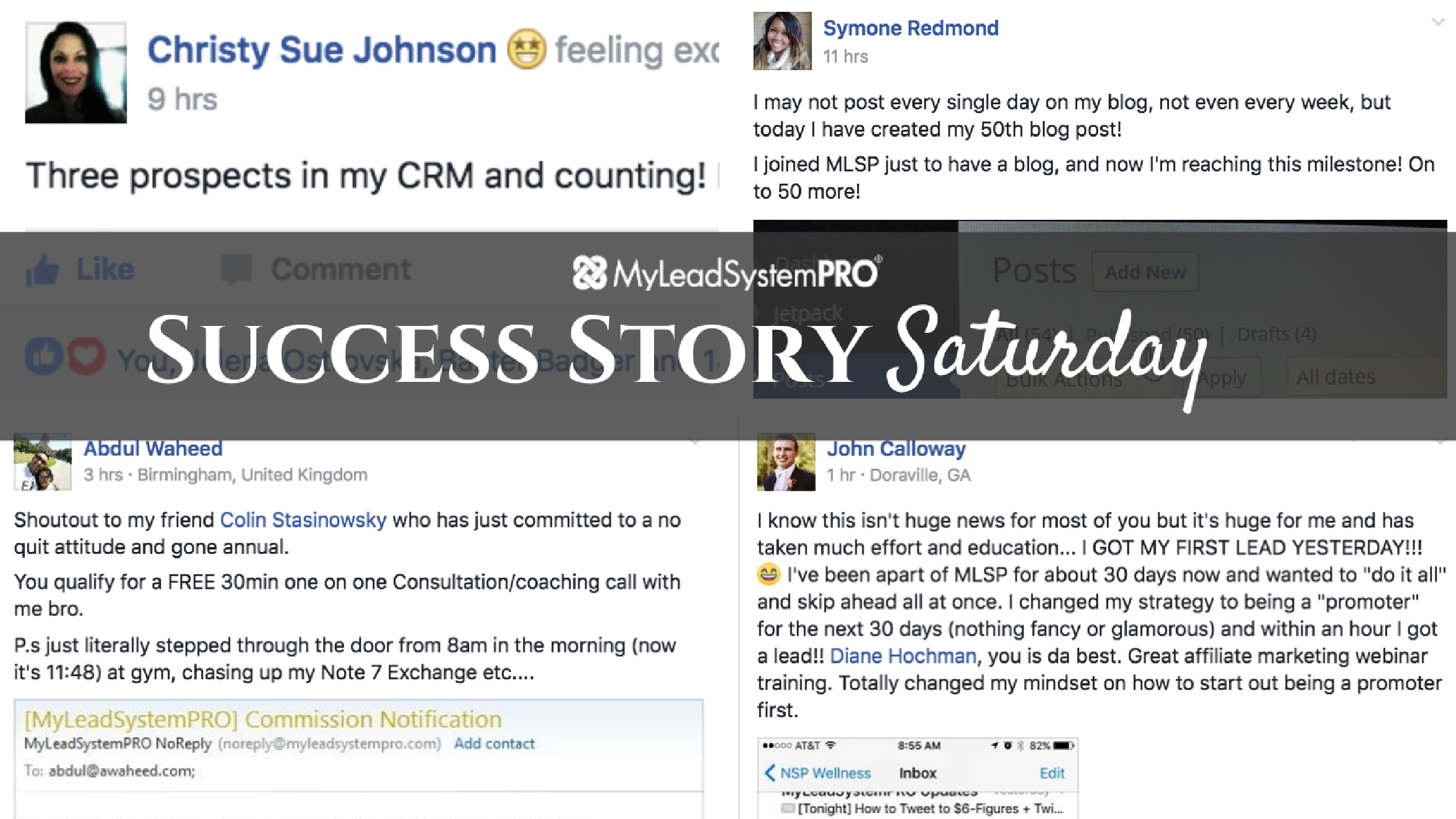 [Success Story Saturday] She Put Her Head Down, Created Her First Funnel and Got 7 Organic Leads the First Day!
