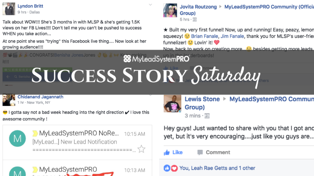 [Success Story Saturday] 3 Months in With MLSP & Getting 1.5K Views on Her FB  LIVES!!