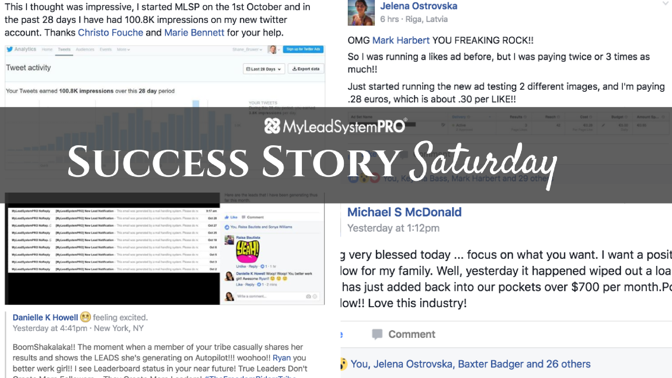 "[Success Story Saturday] ""10 Leads and a VERY Unexpected Signup & Commission Notification!"""