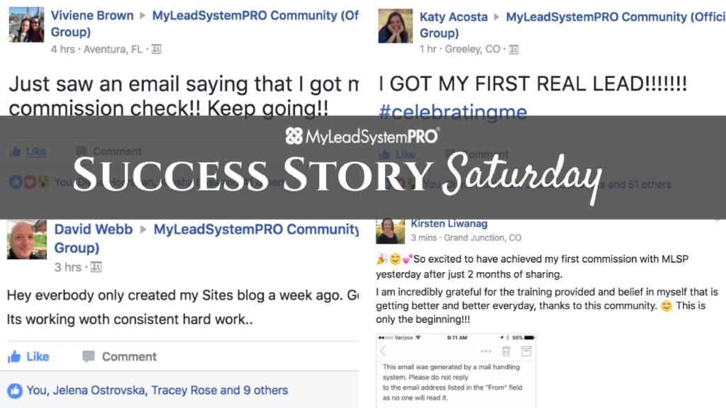 "[Success Story Saturday] Whoa! ""Implemented Training from the Marketing Strategies Yesterday and Got 20 Leads!"""