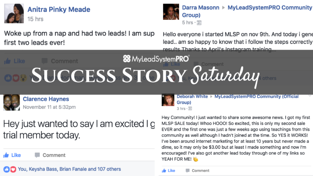 """[Success Story Saturday] """"Woke Up from a Nap and Had Two Leads!"""""""