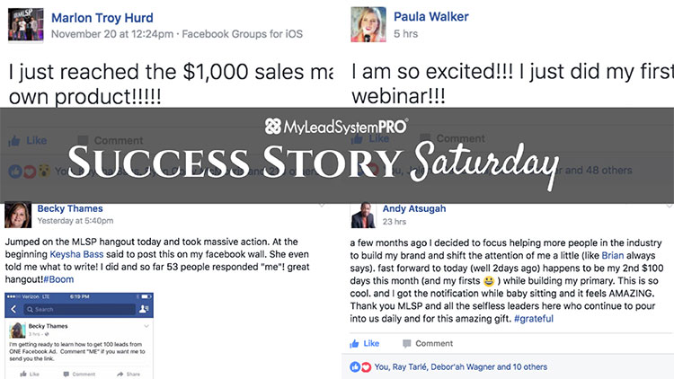 "[Success Story Saturday] ""I Just Reached the $1,000 Sales Mark of My Own Product!!"""