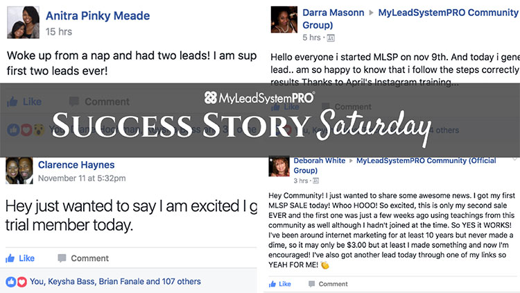 "[Success Story Saturday] ""Woke Up from a Nap and Had Two Leads!"""