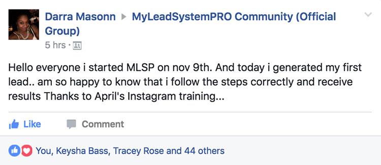 Darra Masonn - MLSP Success Stories