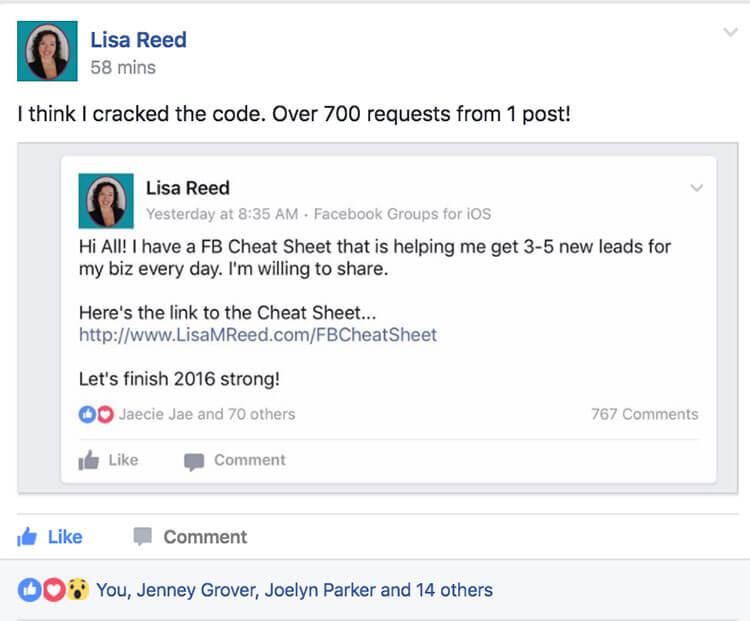 Lisa Reed - MLSP Success Stories
