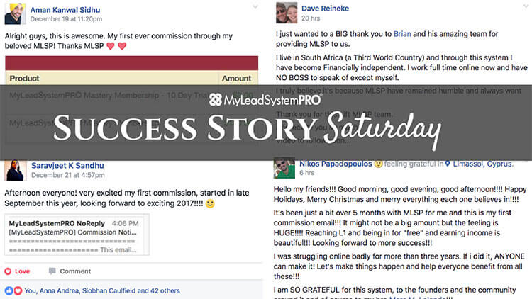 "[Success Story Saturday] ""Happy Holidays…This Is My First Commission Email!"""