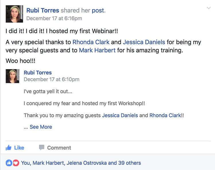 Rubi Torres - MLSP Success Stories