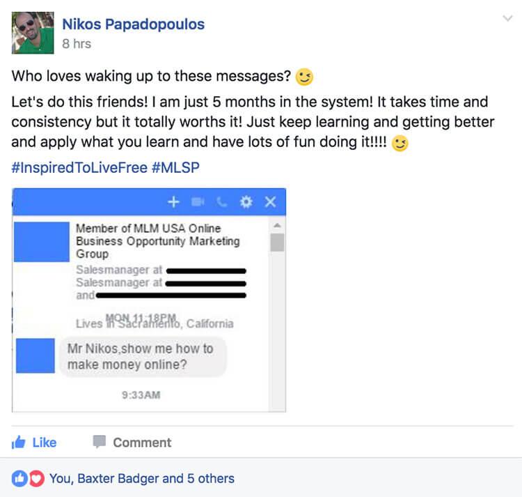 Success Story Saturday - Nikos Papadopoulos