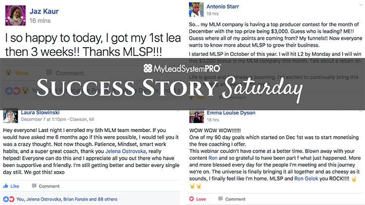 "[Success Story Saturday] ""If You Would Have Asked Me 6 Months Ago If This Were Possible…"""