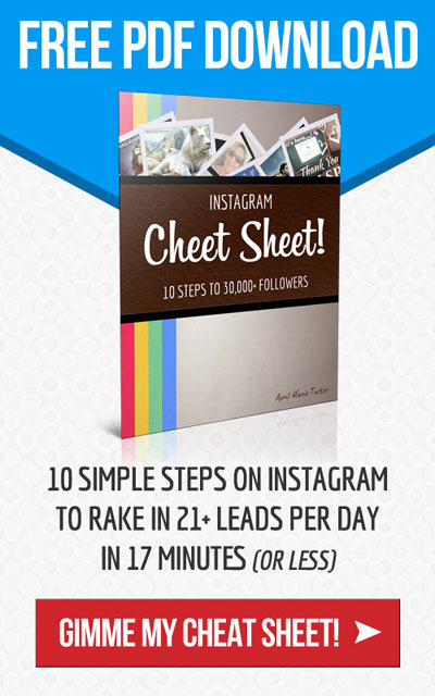 Instagram Cheat Sheet!