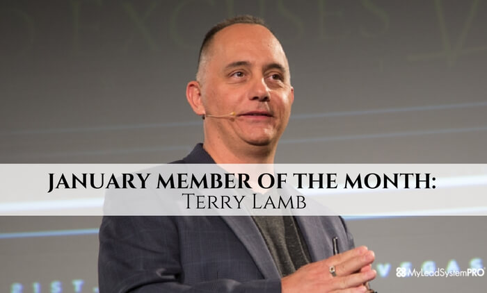 JANUARY MEMBER OF THE MONTH: Terry Lamb
