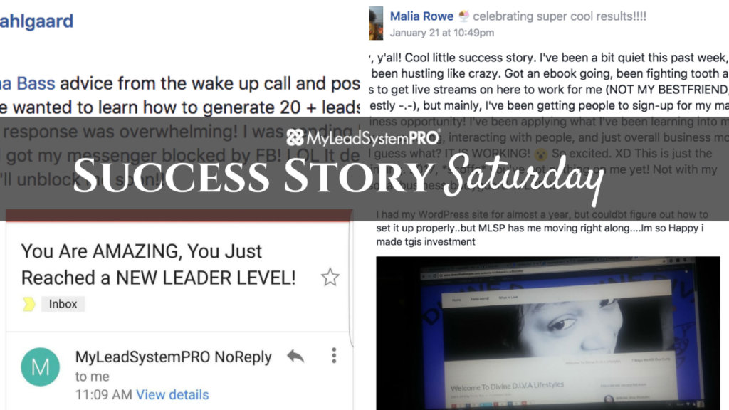 "[Success Story Saturday] "" I Was Able to Generate 20 Paid Leads, 2 Free Leads, and 1 Team Member in My MLM in ONE Day!"""