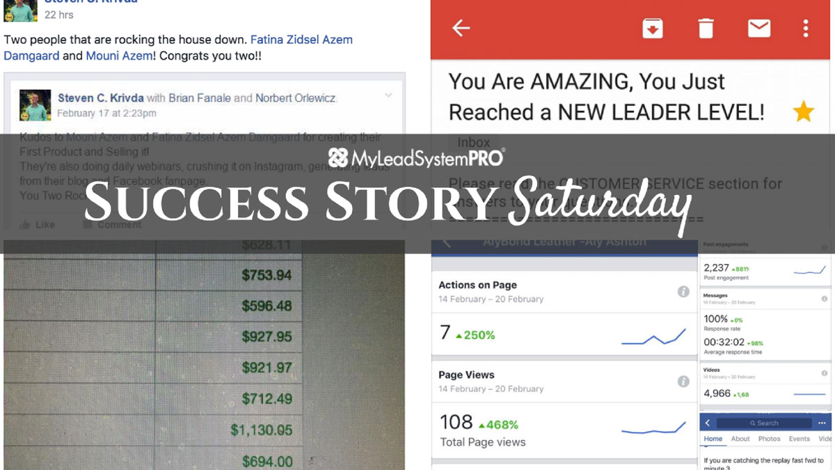 "[Success Story Saturday] ""Breaking Records. I Generated 2,039 Leads in the Last 30 Days"""