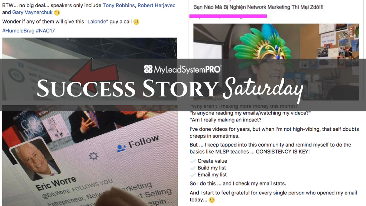 """[Success Story Saturday] """"Just Booked My Flights for LTD8!!…Excited!!"""""""
