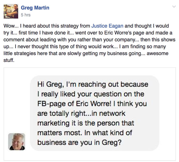 Success Story Saturday - Greg Martin
