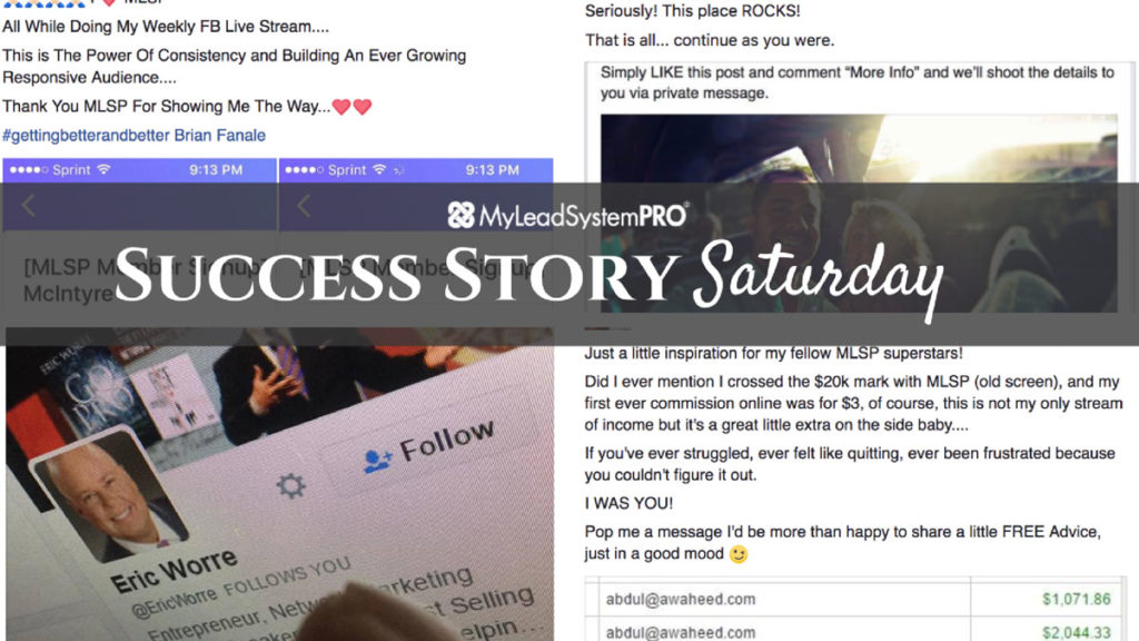 """[Success Story Saturday] """"I Just Hit All Time Leads Generated in MLSP!!"""""""