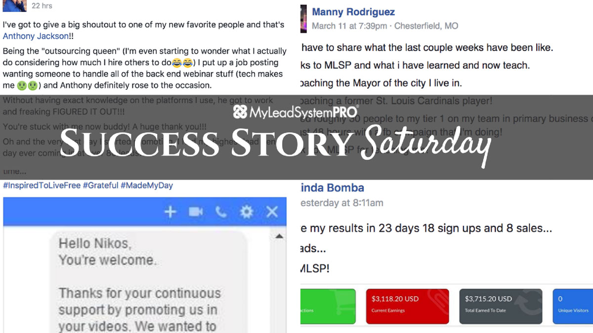 [Success Story Saturday] Shoutout!: 98 Leads in 24 hours! And It's Only Her Second Week!