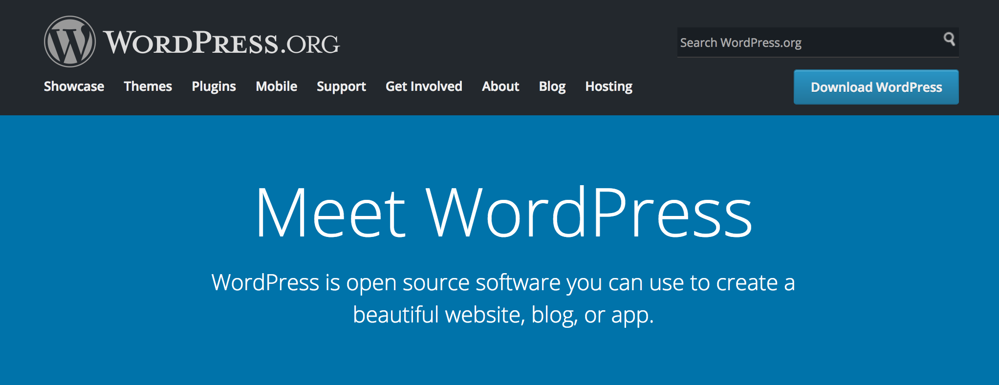 Wordpress.org - Blogging Platform