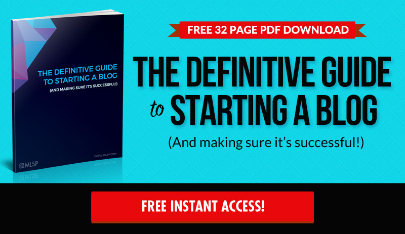 Definitive Guide to Starting a Blog
