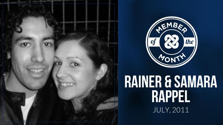 Rainer and Samara Rappel