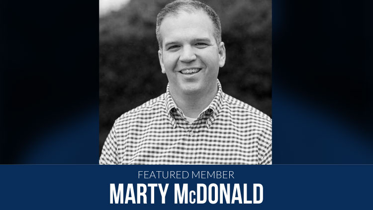 Featured Member: Marty McDonald