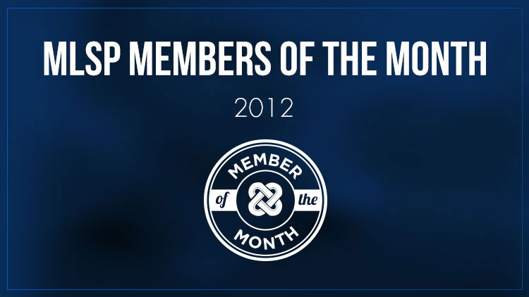 MLSP Member of the Month - 2012