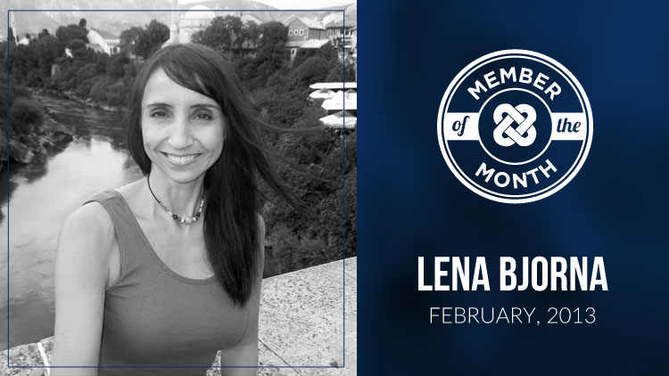 MLSP® MEMBER OF THE MONTH: LENA BJORNA ~ FEBRUARY 2013