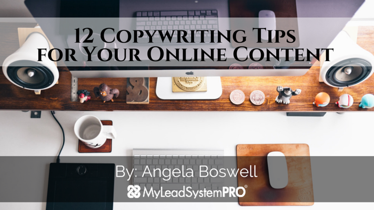 12 Copywriting Tips for Your Online Content