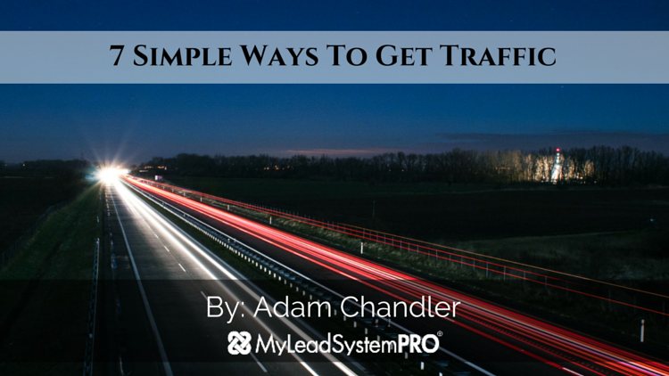 7 Simple Ways to Get Traffic
