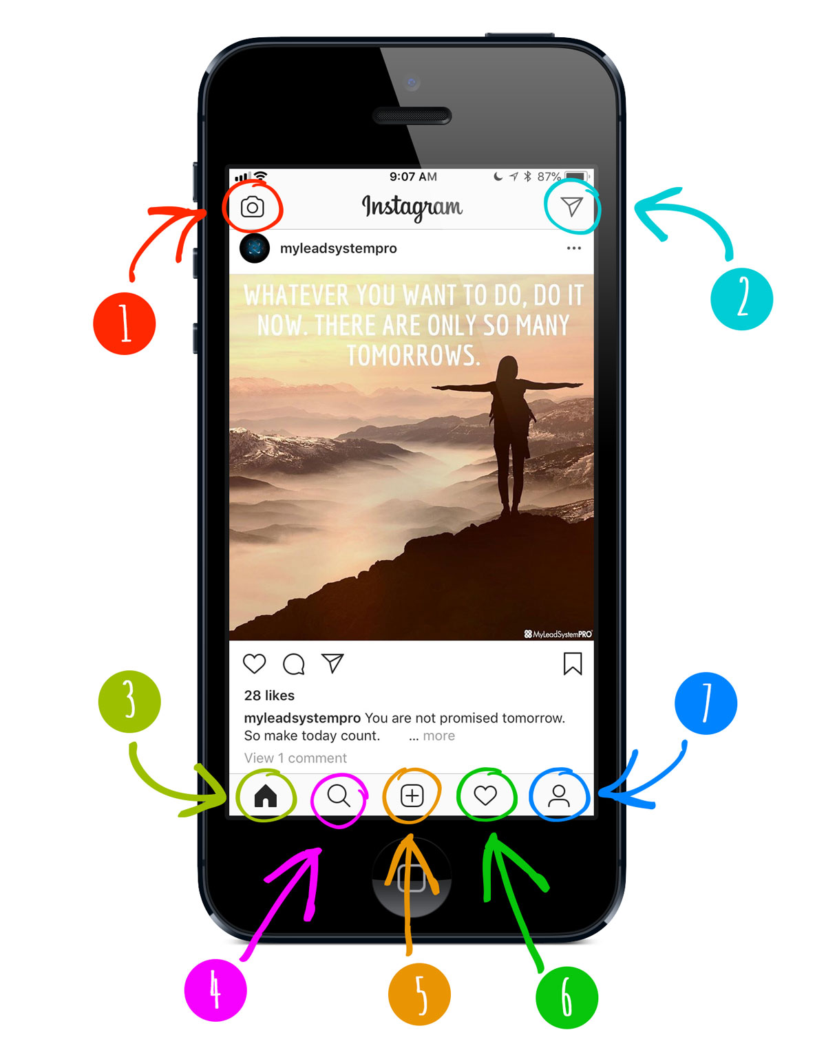 Instagram App Walkthrough